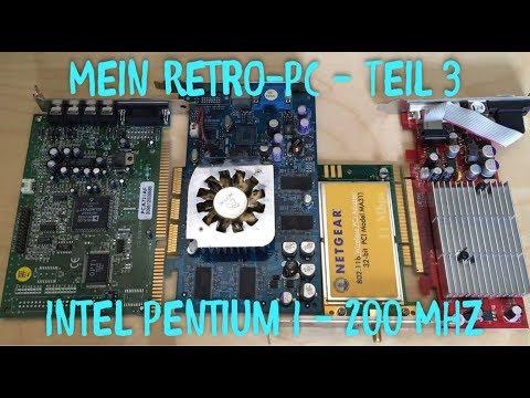 (RP) #90 - Retro-PC Pentium 200 MHz - Kabel, Adapter, Steckkarten ISA, PCI, AGP und mehr (3)