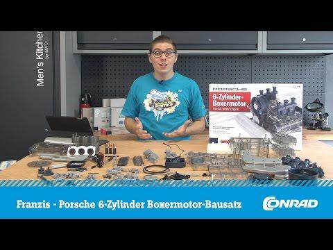 Franzis Porsche 6-Zylinder Boxermotor Bausatz - Kompletter Aufbau | Conrad