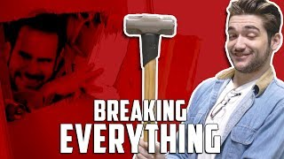 BREAKING EVERYTHING • A Cow Chop Compilation