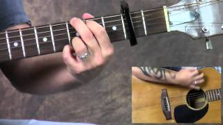 Steve Stine Guitar Lesson - Learn How To Play The A Team by Ed Sheeran