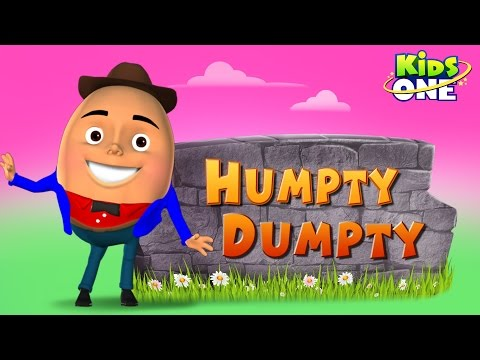 Humpty Dumpty Sat on a Wall | New Humpty Dumpty | 3D Rhymes for Children