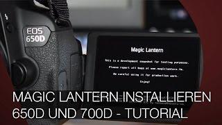 magic lantern 650d