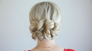 Pull-Thru Updo | Cute Girls Hairstyles by Cute Girls Hairstyles
