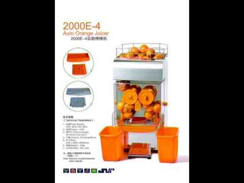 commercial automatic orange juicer juice machine