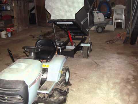 download link youtube remorque tracteur tondeuse. Black Bedroom Furniture Sets. Home Design Ideas