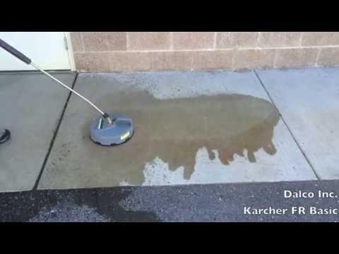 Karcher FR Basic demonstration
