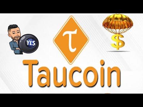 Ganhe 160 Taucoin com dois cliks , muito fácil !