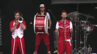 """Open Flair Festival 2016   Moop Mama (""""Roboter"""")"""