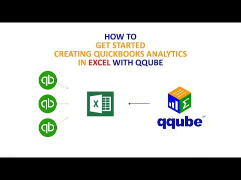 Creating Quickbooks analytics in Excel using QQube