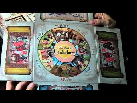 G*M*S Magazine unboxing video of The Road to Canterbury