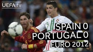 INIESTA, RONALDO, WORLD CUP 2018: SPAIN beats PORTUGAL on penalties to reach the EURO 2012 final! - dooclip.me