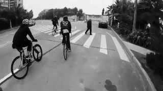 preview picture of video 'macau fixed gear Zhuhai ride'