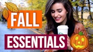 FALL ESSENTIALS || Podzimní Oblíbenci / Anna Sulc