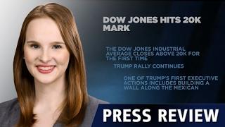 DOW JONES INDUSTRIAL AVERAGE - Dow Jones ultrapassa 20 mil