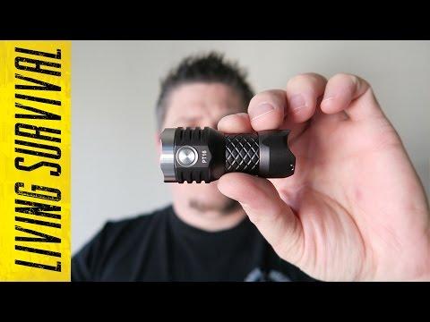 MecArmy PT16 1000 Lumen EDC Flashlight