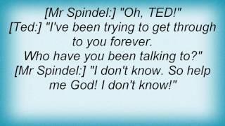 Adam Sandler - Mr. Spindel's Phone Call Lyrics