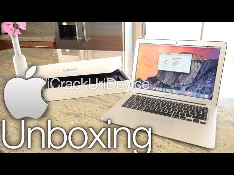 New MacBook Air Unboxing - Early 2015: 13 Inch and Review