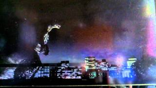 PS3ゴジラを怪獣たちと戦いながらプレイ一日目