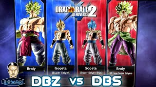 DBZvsDBS : Broly & Gogeta Dlc8 Extra Pack 4 Gameplay Dragon Ball Xenoverse 2