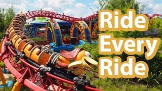 [Challenge] Riding Every Ride At Studios | Riding All The Rides At Disneys Hollywood Studios