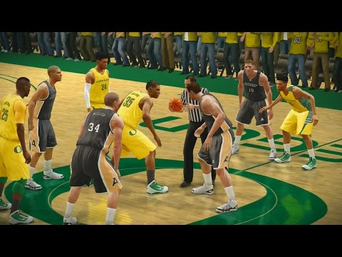 NCAA Basketball 10 2016 2017 Season Army Black Knights vs Oregon Ducks