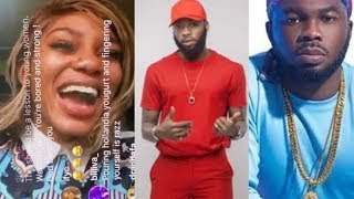 Ex Adult Star Savage Trap Queen Blasts SlimCase, Swanky Jerry Over IGLive   Daddy Freeze