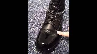 US Navy Boot Shining Trick