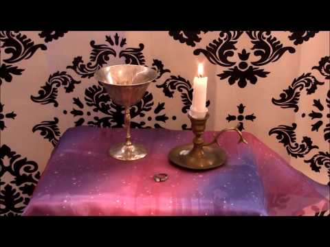 How to Make a Magick Love Ring ~ Full Moon Ritual Spell Casting