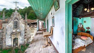 Verlassene Villa einer obdachlosen portugiesischen NUN - von der Natur gezwungen!