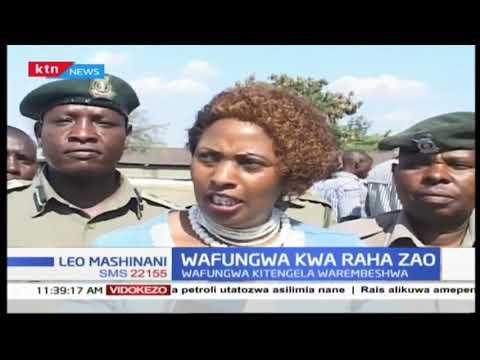 Wafungwa Kitengela warembeshwa