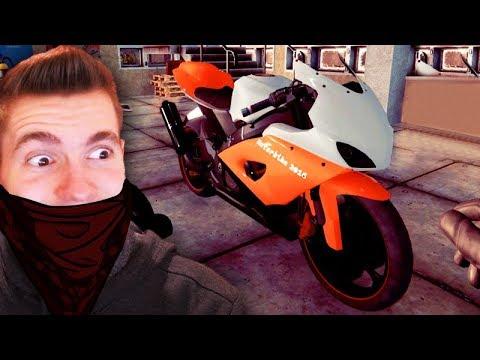 ROUBEI UMA MOTO?!!! - Thief Simulator