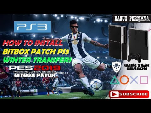 PES 2019 PS3 NEW NF PATCH-final last update summer transfer