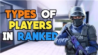 Types Of Players In Ranked Match - Critical Ops
