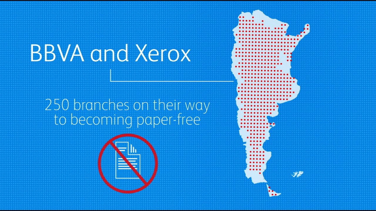 Xerox Helps Argentina's Oldest Private Bank Eliminate Paper On boarding Forms YouTube Video