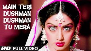Main Teri Dushman Dushman Tu Mera Full VIDEO Song  Nagina  Rishi Kapoor Sridevi