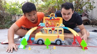Trò Chơi Xe Đa Năng ❤ ChiChi kids TV ❤ Đồ Chơi Trẻ Em Baby Doli