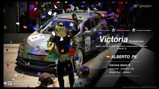 🚩Gran Turismo SPORT Online🚩 Road to Trophy, Record de victorias, 34 Victorias, C.B.Renault S. Megane