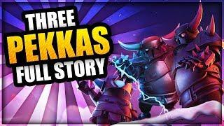 How were the 3 PEKKAs Created? - FULL Clash of Clans Origin Story - Mini Pekka, Super Pekka & Pekka