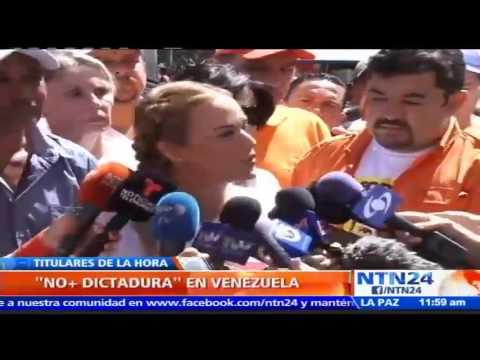 Venezuela reclama libertad de los presos políticos