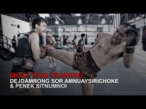 Muay Thai World Champion Dejdamrong Sor Amnuaysirichoke!