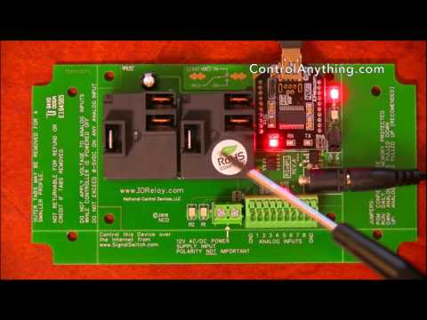 2 Channel High Power USB Relay Controller ProXR Lite Hardware Overview