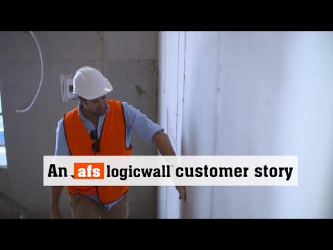 Builder testimonial, Warren Danter, afs logicwall<sup>®</sup>