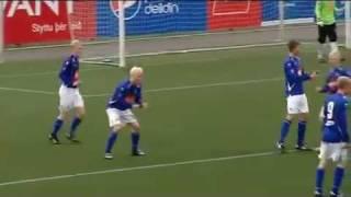 爆笑注意!アイスランドのゴールパフォが面白いと話題に