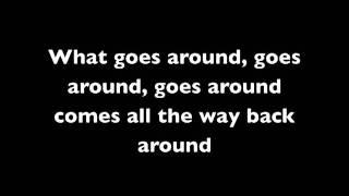 Justin Timberlake - what goes around comes around (lyrics on screen)