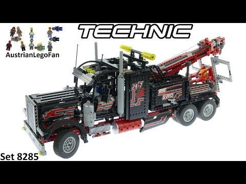 Vidéo LEGO Technic 8285 : Le camion-remorque géant