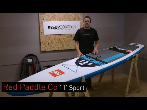 SUP Review – Red Paddle Co 11′ Sport Inflatable SUP Board