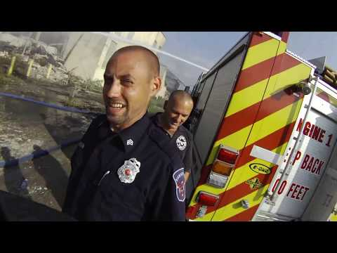 This Insane Helmet Cam Video Shows What It's Like To Be A Firefighter