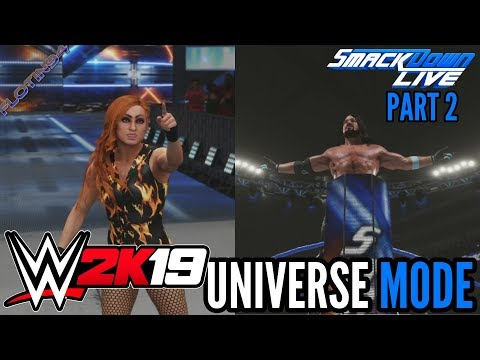 WWE 2K19 | UNIVERSE MODE #2 | The Phenomenal Beating!