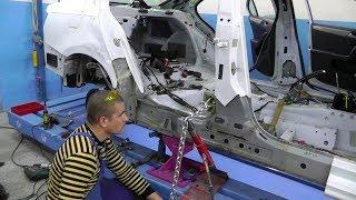 🚐🔨 Volkswagen Jetta . Вытяжка кузова.
