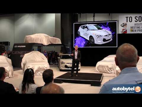 Hyundai SEMA Tunder Concept Cars @ RE:MIX Press Conference